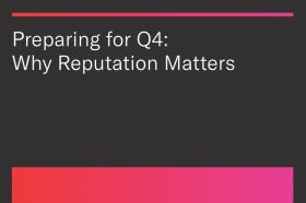 Preparing for Q4: Why Reputation Matters